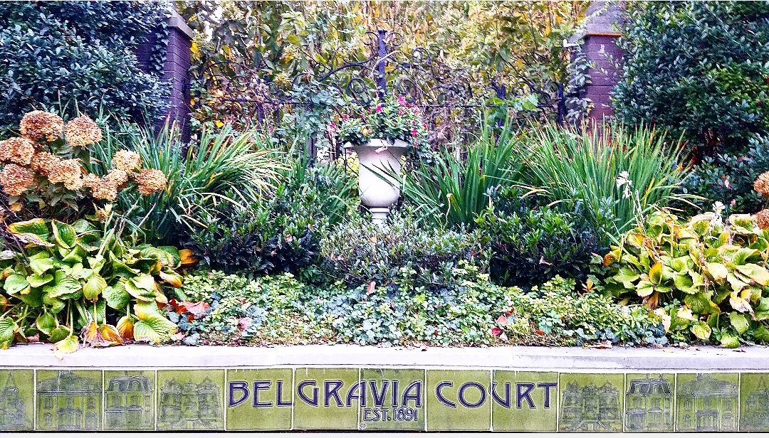 Entrance to Belgravia Court. Picture by Rachel Lachut