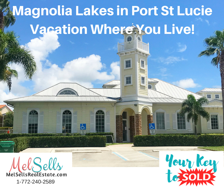For info on Magnolia Lakes at St Lucie West call Melissa Conrad 772-240-2589 MelSellsRealEstate