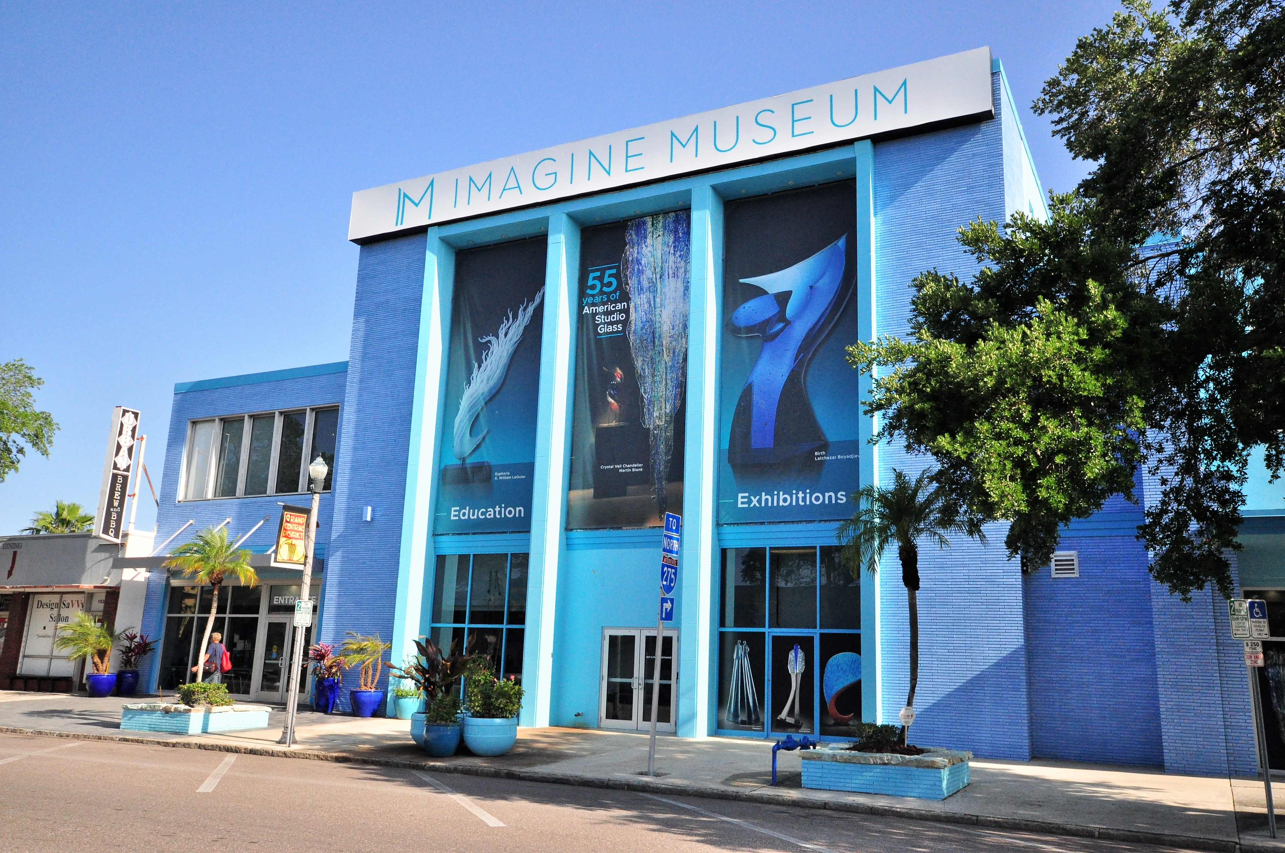Imagine Museum, Grand Central District in St Petersburg Florida