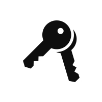 icon of a set of keys